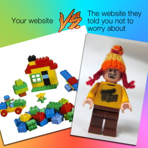Building a website can be complicated, and it helps to go into the process with some set goals
